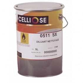 Diluant de nettoyage universel 0511SX - 5 litres CELLIOSE