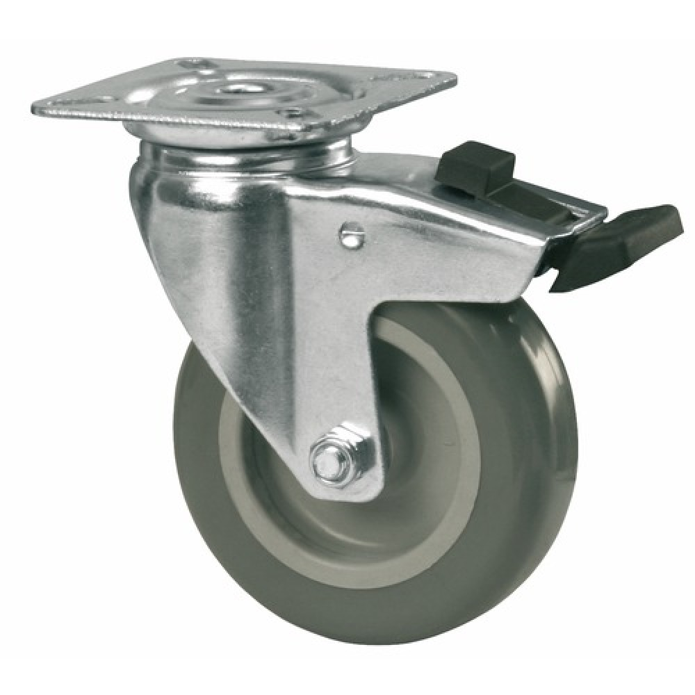 Roulette de manutention latest asema aquitaine chariots de manutention roues et roulettes - Roue caoutchouc chariot ...
