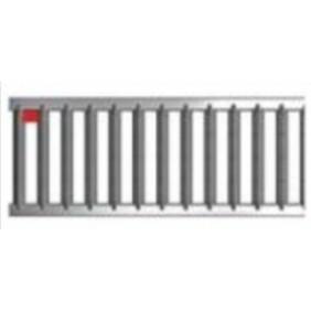 Caniveau de drainage - Aco drain - Self 100 - avec portail ACO