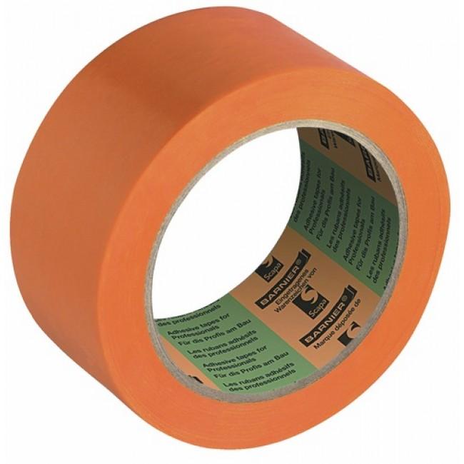 Adhésif multi-usage - orange - plastifié - 6095 BARNIER