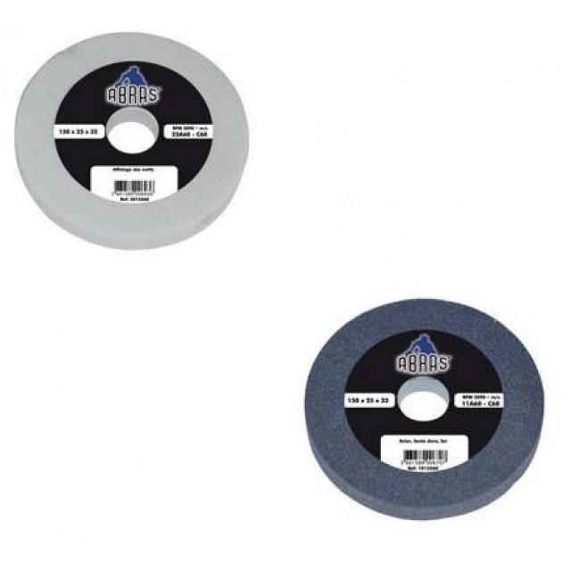 Meule vitrifiée 200 mm pour touret à meuler TBM200 et TDM200 LEMAN