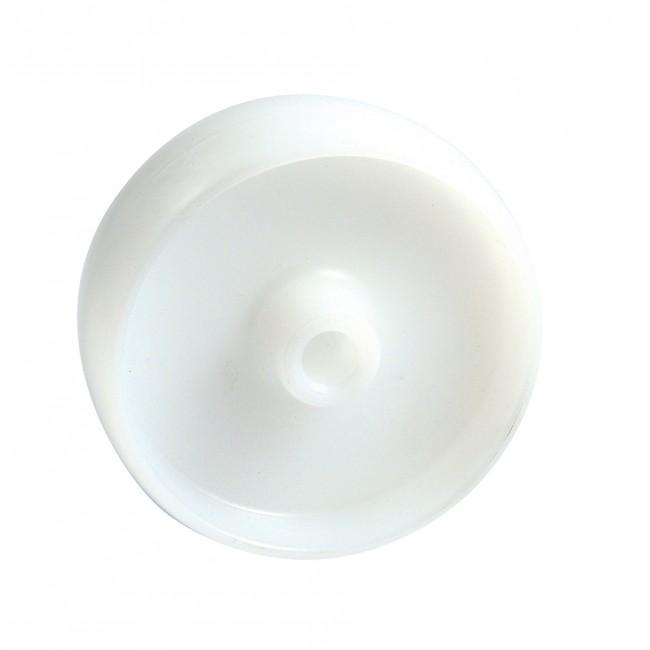 Roue en polyamide 6 blanc AVL