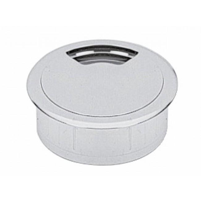 Passe-câbles rond en plastique - diamètre 80 mm HETTICH