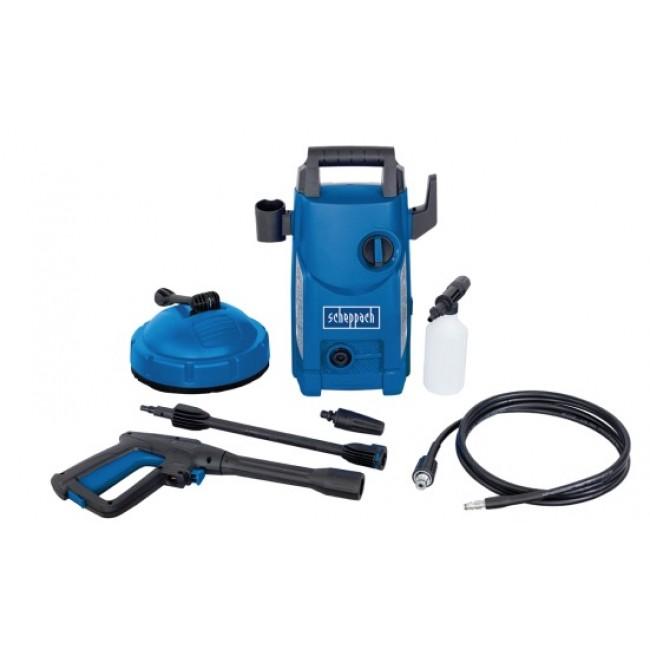 Nettoyeur haute pression 1400W + accessoires - HCE1500 SCHEPPACH