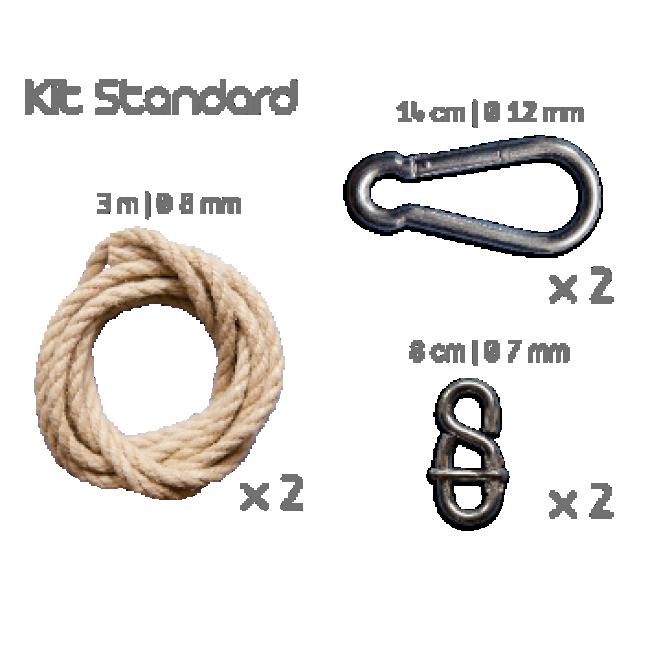 Kit pour hamac - fixations standard ESCUDEROS