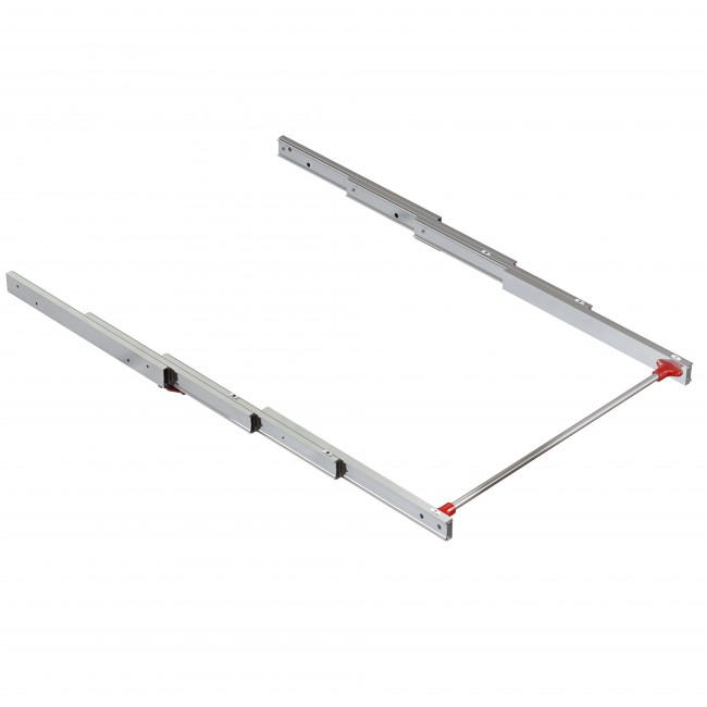 Coulisses pour plateau escamotable - table d'appoint - Lunch 895x900 EMUCA