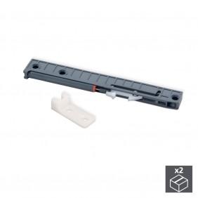 Système de fermeture soft pour coulisses à roulettes T30 EMUCA
