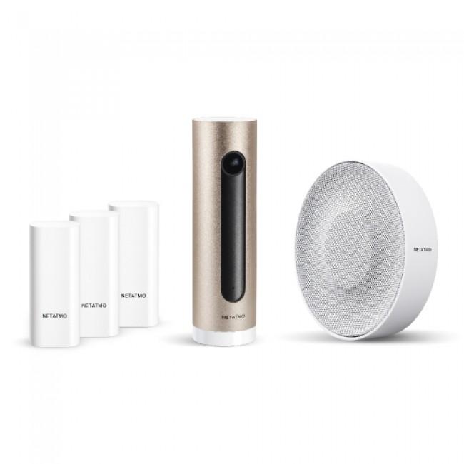 Pack alarme vidéo intelligente Netatmo LEGRAND