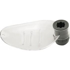 Porte savon pour barre de douche - diamètre 18 mm BRICOZOR