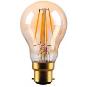 Lampe LED GLS à filament - ambrée - Vintage Kosnic