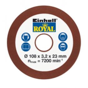 Disque d'affûtage - meule - 4,5 mm EINHELL