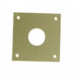 Entrée de cylindre rond Ø 23 mm, laiton COUILLET
