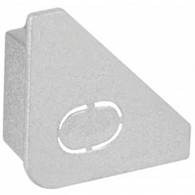 Kit de 2 embouts de finition - plinthe LED - Delta Profil Cap PAULMANN