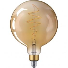 Ampoule LED - 6,5W - E27 - Globe - ambrée - Giant PHILIPS (SIGNIFY FRANCE)