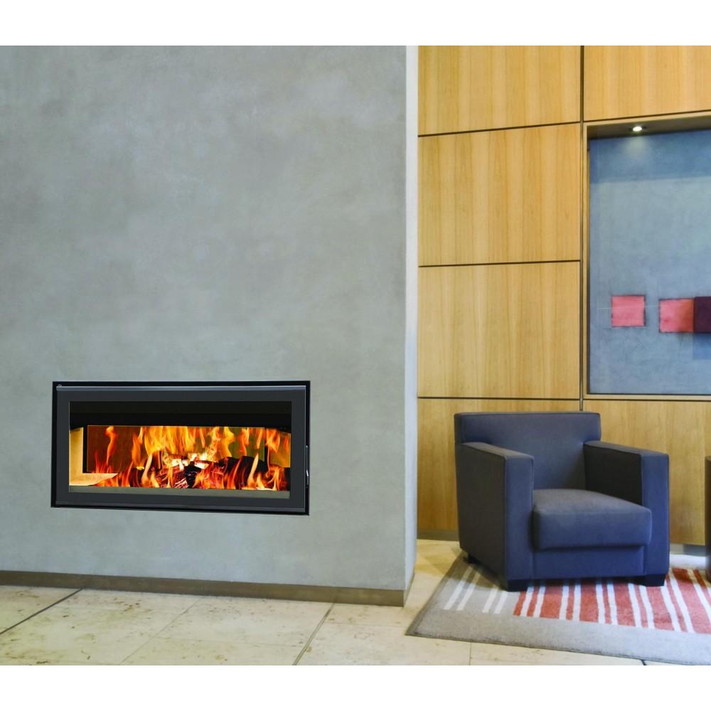 insert bois pour surface de 13 m2 l100 x p56 x h 48 8. Black Bedroom Furniture Sets. Home Design Ideas