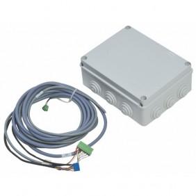 Alimentation pour serrure électrique en applique type e-DAS 2V SERSYS