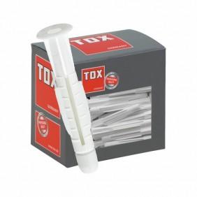 Cheville polypropylène avec collerette -Trika TOX