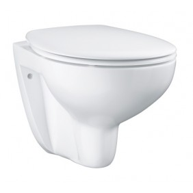 Cuvette WC suspendue et sans bride - Soft Close -Bau Ceramic GROHE