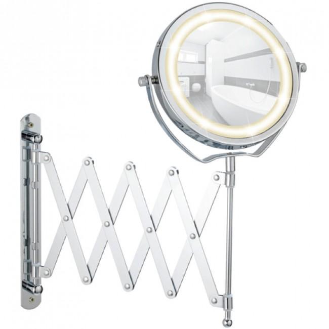 Miroir grossissant x3 - Brolo - mural - télescopique - LED WENKO