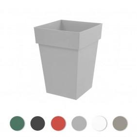 Pot carré - contenance 51 litres - Toscane 13628 EDA PLASTIQUES