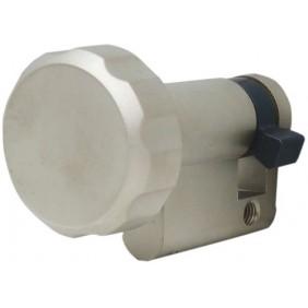 Cylindre à bouton européen de sûreté simple varié - 3 clés - Europa DORMAKABA