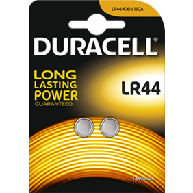 Piles alcalines 1,5V - LR44 DURACELL