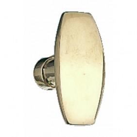 Boutons rectangle laiton poli BRICOZOR