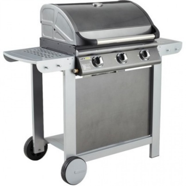 Barbecue gaz Américain - 3 brûleurs - Fiesta 3 COOK IN GARDEN