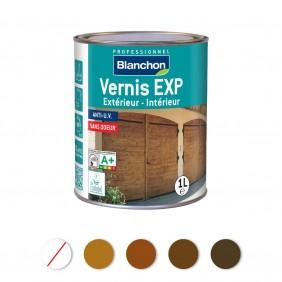 Vernis - aqua-polyuréthane - intérieur extérieur - EXP BLANCHON