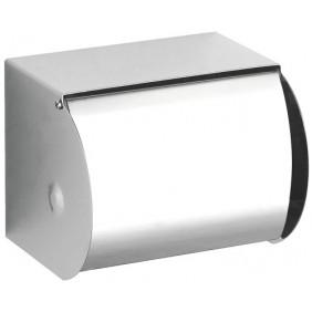 Porte-rouleaux papier WC - Inox brillant - avec couvercle PELLET ASC