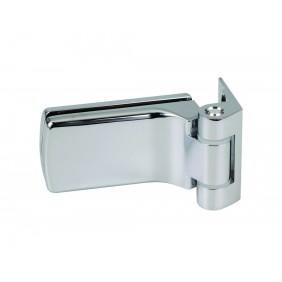 Paumelle et fiche pour porte verre - pour cloison aluminium STREMLER