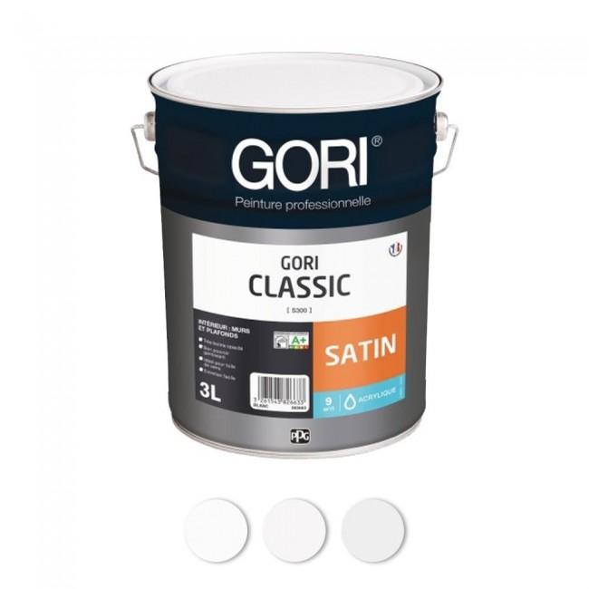 Peinture acrylique - pour murs et plafonds - Goriclassic Gori