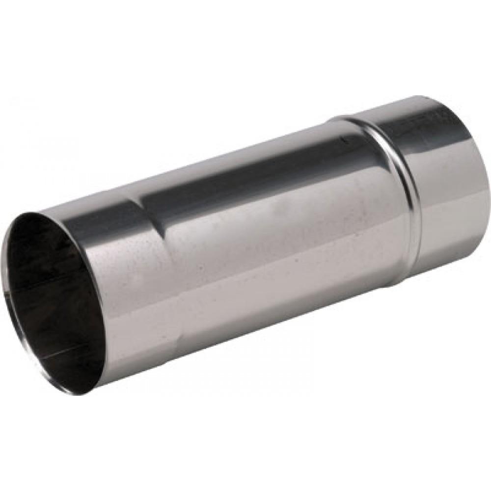 Tubage rigide inox 304 simple paroi longueur 1 m ten for Tubage inox double paroi prix
