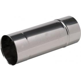 Tubage rigide inox 304 - simple paroi - longueur 1 m TEN