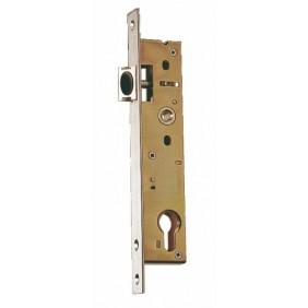 Serrure à larder pour gâche électrique - 1 point - entraxe 92 mm - 2241 STREMLER
