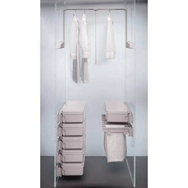 Penderie escamotable double 10 kg - Lift 300 AMBOS