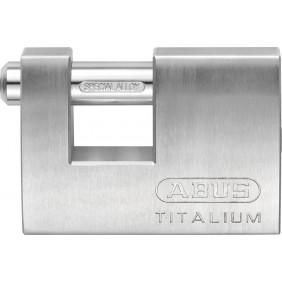 Cadenas rectangulaire en aluminium - largeur 70mm - 82ti/70 Titalium ABUS