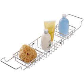 Pont de baignoire ajustable - acier inox WENKO