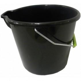 Seau laveur - rond - avec bec verseur - 14 litres