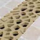 Caniveau Self 100 - grilles Voronoï - Citrine et diamant - sans pentes ACO