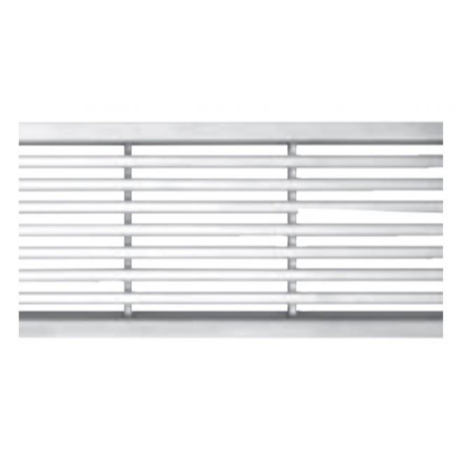 Caniveau d'extérieur à grille - différentes finitions - Self 100 ACO