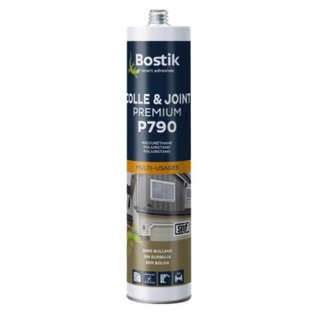 Mastic-colle polyuréthane - multi-usages - Premium P790 BOSTIK