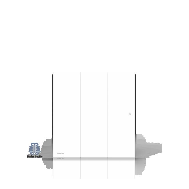 Radiateur à inertie fonte active - smart eco contrôle - OZEO AIRELEC