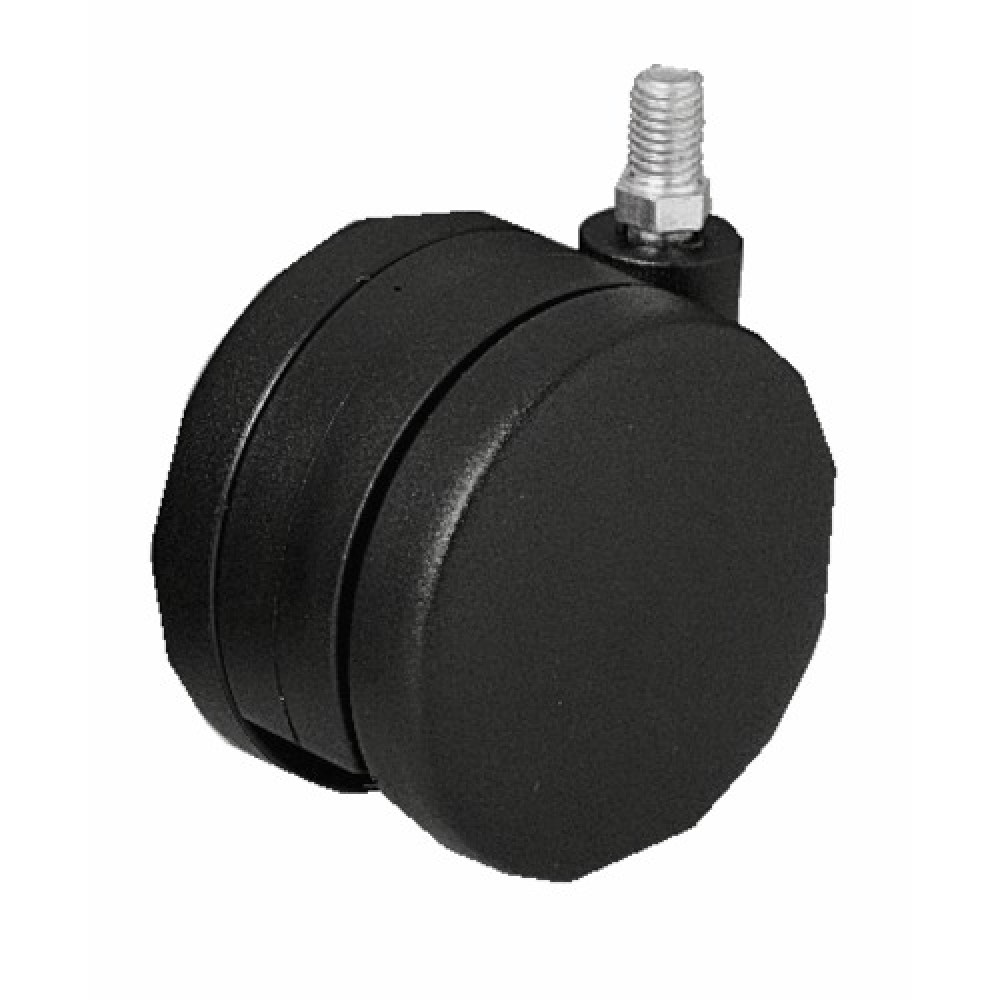 roulettes twiny avec frein sur tige filet e bricozor. Black Bedroom Furniture Sets. Home Design Ideas