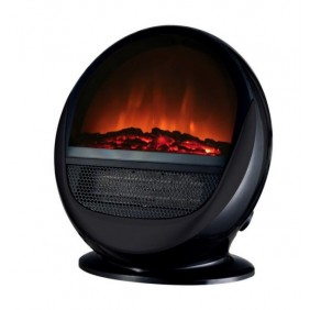 Cheminée électrique - design Pop Fire Noire ou Blanche CHEMIN' ARTE