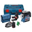 Niveau laser GLL 3-80CG - faisceau vert + Support BM1 - 0601063T00 BOSCH