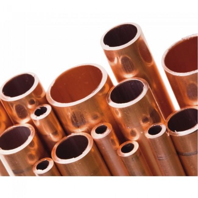 Raccord plomberie - Tube cuivre anti-corrosion 4 mètres KME