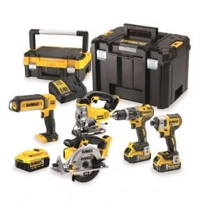 Kit 5 outils électroportatif 18 V 5Ah-DCK551P3T