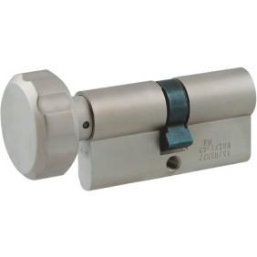 Cylindre à bouton européen de sûreté double varié - 3 clés - Europa DORMAKABA