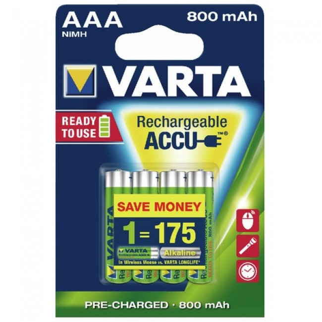 Accumulateurs - rechargeables - Ni/MH VARTA